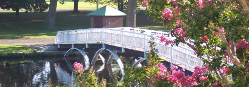 Salisbury Community Park Foot Bridge